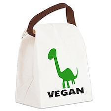 Vegansaurs Canvas Lunch Bag