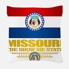 Missouri Pride Woven Throw Pillow
