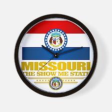 Missouri Pride Wall Clock