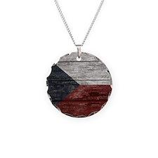 Wood Boards Czech Republic F Necklace