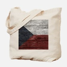 Wood Boards Czech Republic Flag king duve Tote Bag