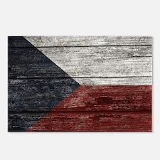 Wood Boards Czech Republi Postcards (Package of 8)