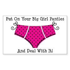 Big Girl Panties 1 Decal
