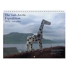 Sub-Arctic Expedition Wall Calendar