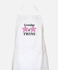 Grandpa of Twins (Girls) BBQ Apron