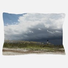 Storm on Tybee Island, GA Pillow Case