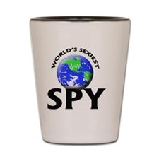 World's Sexiest Spy Shot Glass