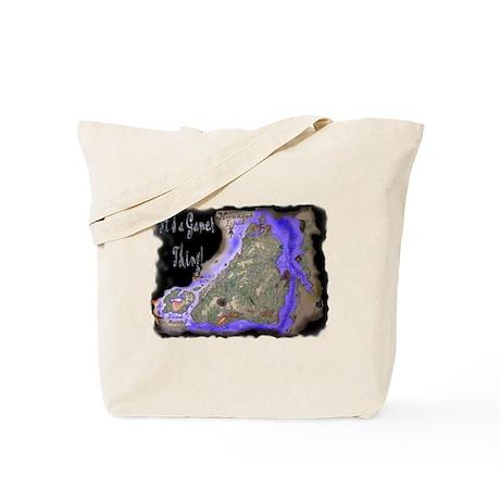 HornHawk Island Tote Bag