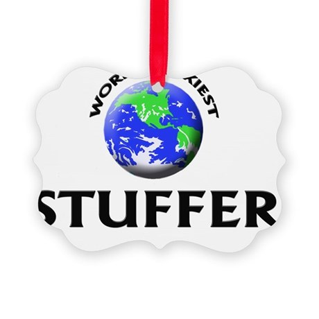 World's Sexiest Stuffer Picture Ornament