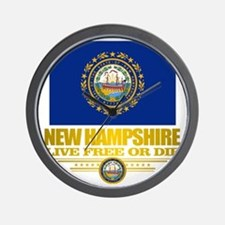 New Hampshire Pride Wall Clock