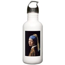 The Girl With A Pearl  Water Bottle