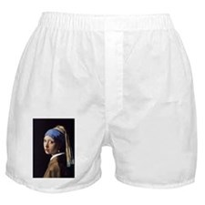 The Girl With A Pearl Earring Boxer Shorts