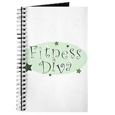 """""""Fitness Diva"""" [green] Journal"""