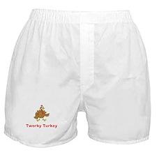 Twerky Turkey Boxer Shorts