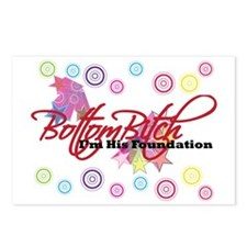 Lovely D- Bottom Bitch Co Postcards (Package of 8)