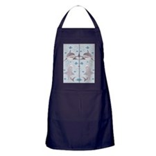 Sharks Swimming Apron (dark)
