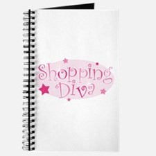 """Shopping Diva"" [pink] Journal"