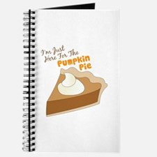 Im Just Here For The Pumpkin Pie Journal