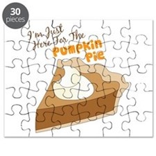 Im Just Here For The Pumpkin Pie Puzzle