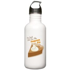 Im Just Here For The Pumpkin Pie Water Bottle