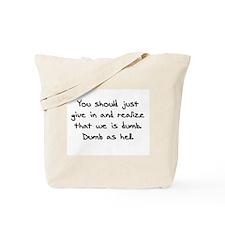 Cute Aqua teen hunger force Tote Bag