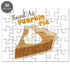 Sweet As Pumkin Pie Puzzle