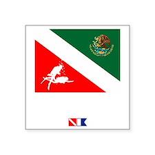 """Dive Mexico Square Sticker 3"""" x 3"""""""