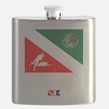 Dive Mexico Flask