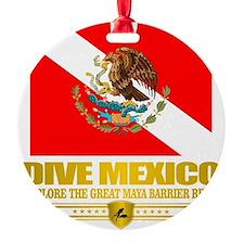 Dive Mexico 2 Ornament
