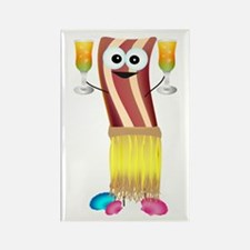 Bahama Bacon Rectangle Magnet
