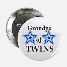 Grandpa of Twins (Boys) Button