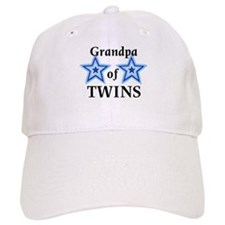Grandpa of Twins (Boys) Baseball Cap