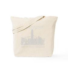 HongKong_10x10_v1_Skyline_Central_White Tote Bag