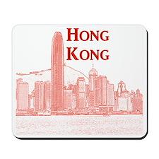 HongKong_10x10_v3_Skyline_Central Mousepad