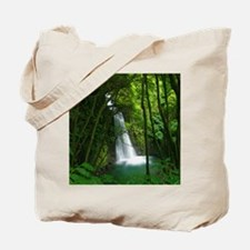 Waterfall in Azores Tote Bag