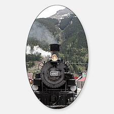 Steam train engine Colorado, USA 4 Decal