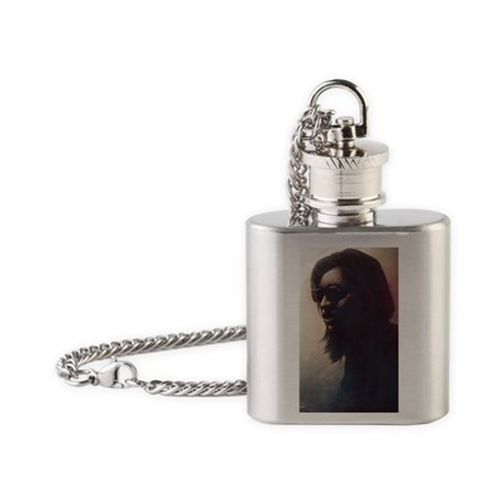 Sixto Rodriguez Flask Necklace