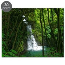 Waterfall in Azores Puzzle