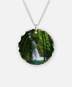 Waterfall in Azores Necklace