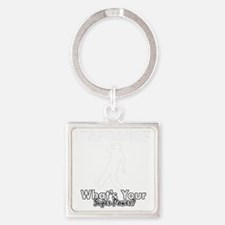 Tap dance designs Square Keychain