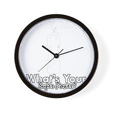 Cool bellydancer designs Wall Clock