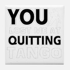 Tango dance designs Tile Coaster