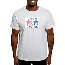 Grandpa of Twins (Girl, Boy) T-Shirt