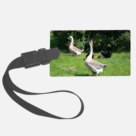 TWO GEESE Luggage Tag
