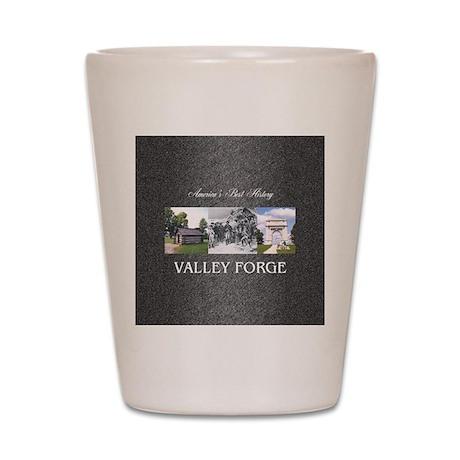 valleyforgesq Shot Glass