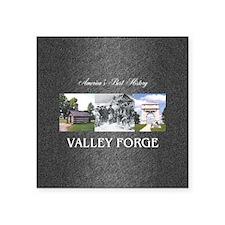 """valleyforgesq Square Sticker 3"""" x 3"""""""