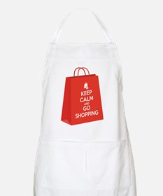 Keep calm and go shopping (bag2) Apron
