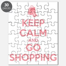 Keep Calm and Go Shopping Puzzle