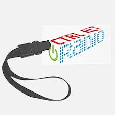 Ctrl Alt Radio Main Logo Luggage Tag