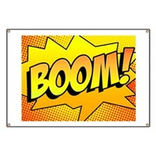 BOOM Comic Sound Effects Banner